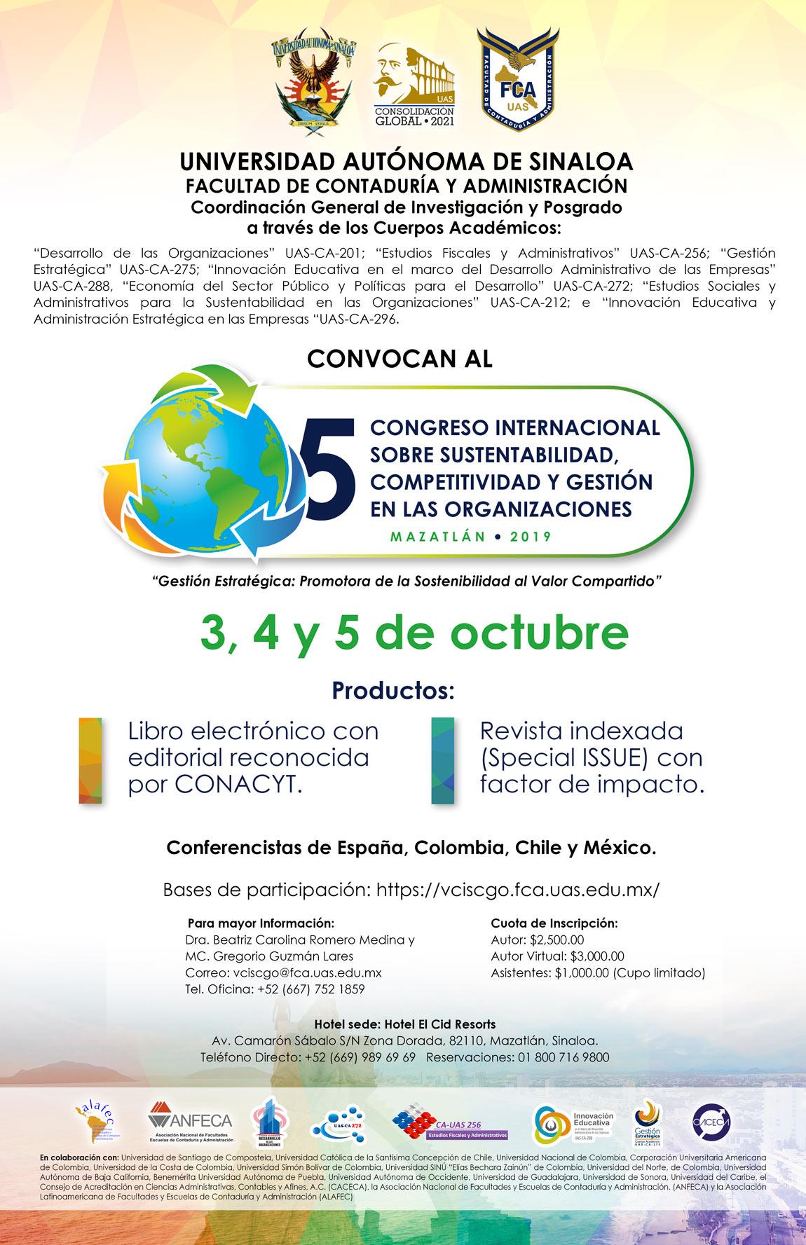 Bases de Participación al V CISCGO 2019